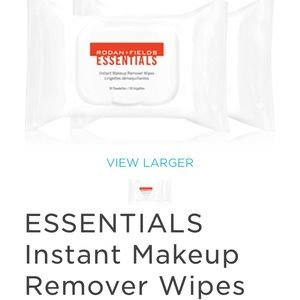 Brand new, sealed R+F makeup remover wipes 2x30